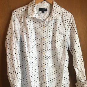 Banana Republic women's button down shirt